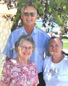 Photo of Gene and Donna Lackore and Pat Williams