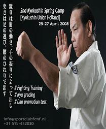 2nd Kyokushin Spring Camp