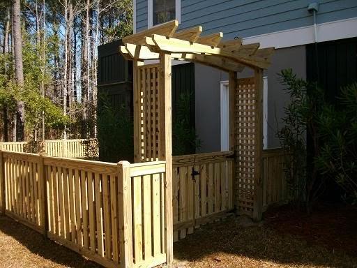 Advent Fence Company Charleston South Carolina Entry