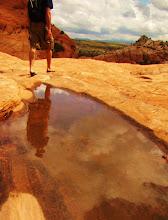 Reflecting While Hiking in Gunlock '08