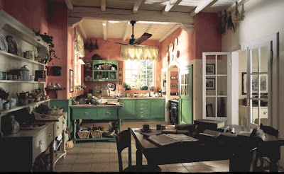 Cucina Old England - Shabby Chic Interiors