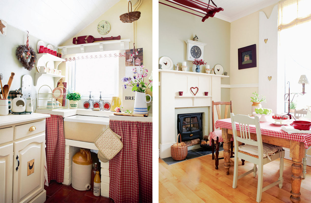 In cucina shabby chic interiors for Casa moderna accogliente