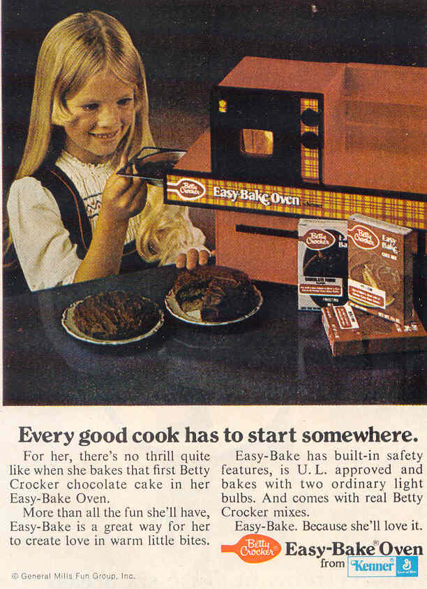 Gold Country Girls Did You Have An Easy Bake Oven
