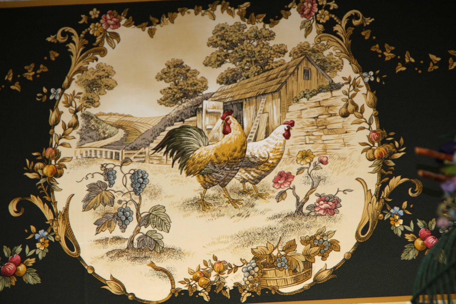 Chicken Wallpaper Border