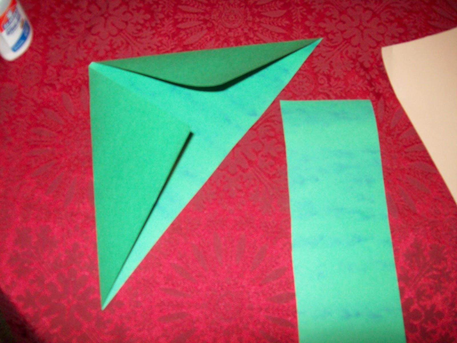 Paper Elf Hat Craft