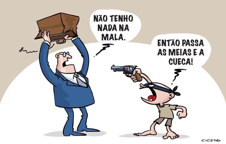 TRIBUNA DA INTERNET | Piada do Ano: Planalto afirma que Temer não tem medo da delação de Loures