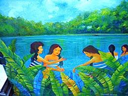 """Bathing Women""by Muffet"