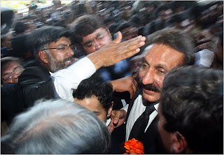 Sacked Chief Justice Iftikhar Muhammad Chaudhry