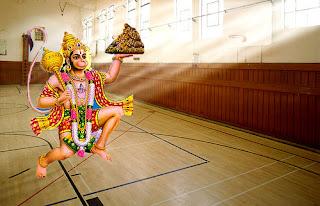 Weightlifter Hanuman
