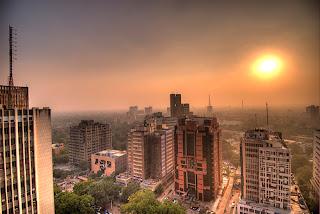 Delhi view from Parikrama