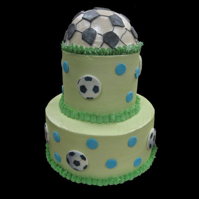 "Soccer Wedding Ideas: Football Wedding Cake ""Soccer Cake"""