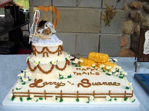 "Western Wedding Cakes ""Western Cake"""