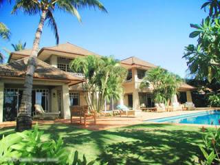 traumh user luxus immobilien traumhaus mit palmen und pool auf hawaii. Black Bedroom Furniture Sets. Home Design Ideas