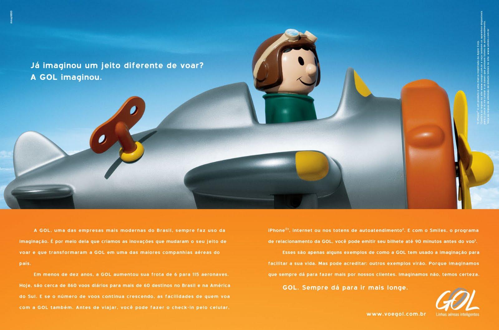 Gol Linhas Aéreas Inteligentes lança campanha de marca e reforça inovação 9ff0ebf04f