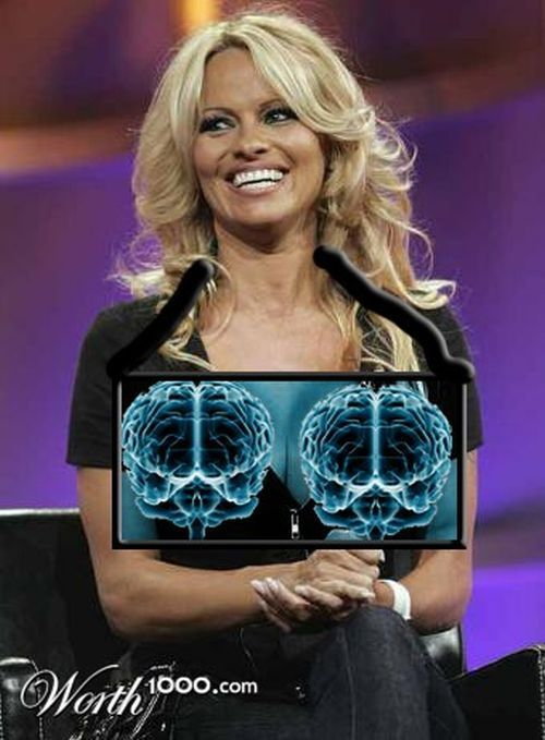 Celebrity xray pics (Photoshopped)