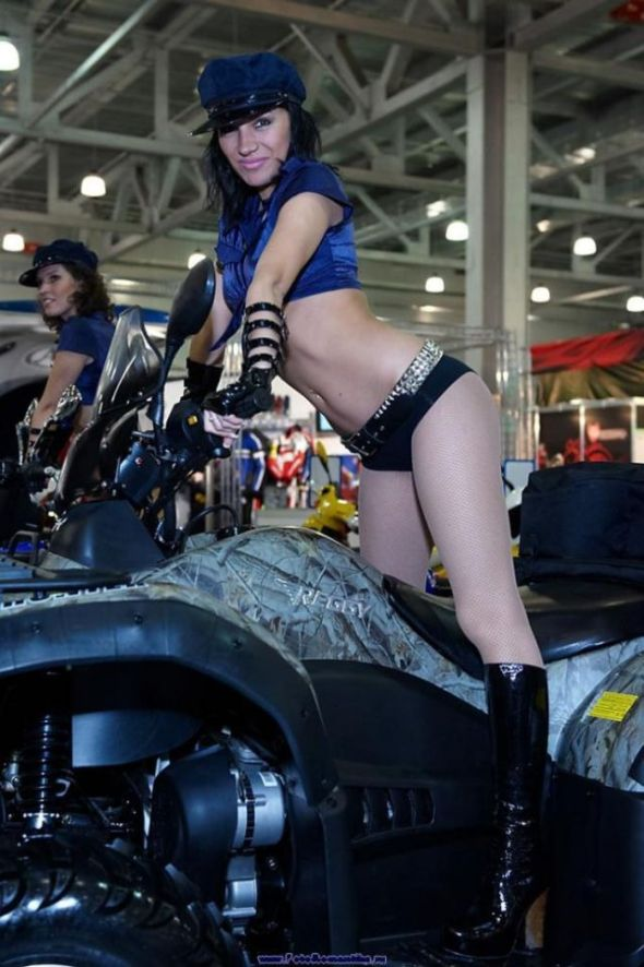 Girls in Bike Shows