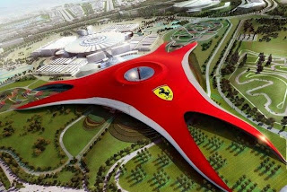 Ferrari theme park in Dubai