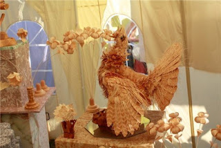 wood carved sculpture