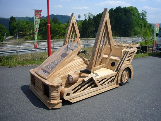 Wood Super Car