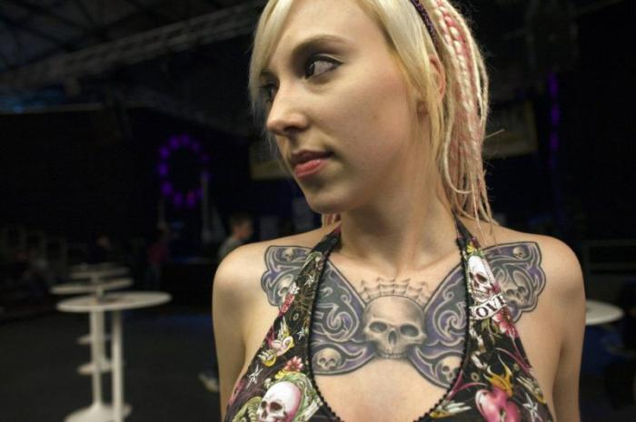 Tattoo arts festival in Berlin