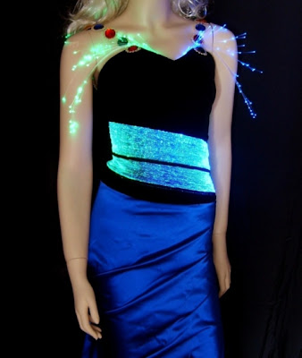 Lumigram's illuminating dress
