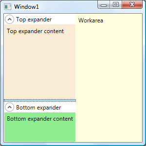 Programming: WPF expanders with stretching height