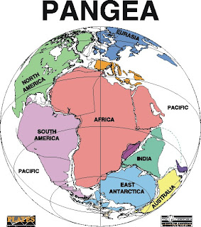 When Earth's Supercontinent Pangaea Was Torn Apart 130 Million Years Ago, the Planet Warmed Up