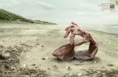 pubblicità sociale il mare non pulisce se stesso