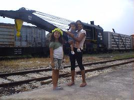 En el museo de trenes