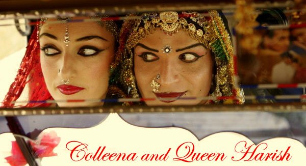 Colleena and Queen Harish!