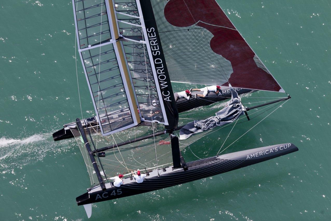 Racing catamaran plans   Plan make easy to build boat