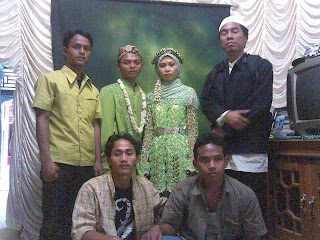 Ayip's Wedding Ceremony, My Friends