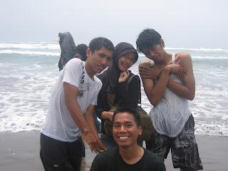 Jogjakarta, Parang Tritis Beach,