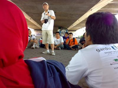 Kopdar Batagor.net, at Dago, Bandung Paris van Java, West Java