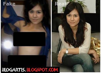 Wulan Guritno 's Fake Pictures ~ BlogArtis: Foto Artis