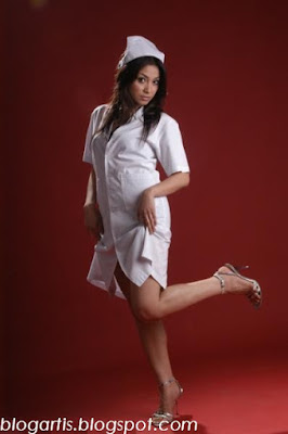 Virnie Ismail in Nurse Uniform - Hot!!!