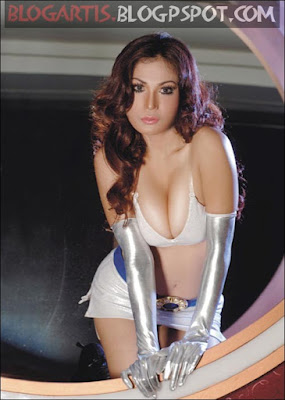 Vivian Alamsyah - Sexy Super Hero Uniforms