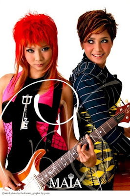 Mey Chan, Chika and Duo Ratu