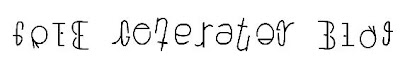 Ambigram Generator