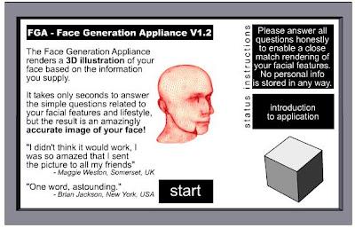 3D Face Generator
