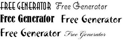 Adobe Fonts Generator