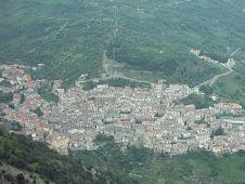 Panorama di Cerchiara dal Lacco