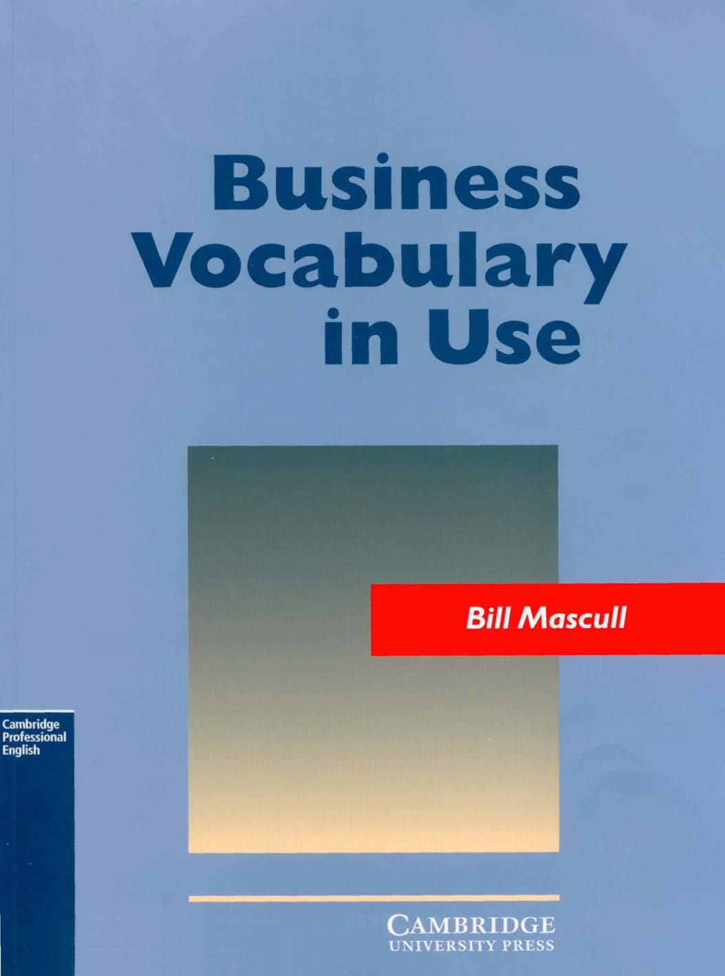 business vocabulary in use pdf download