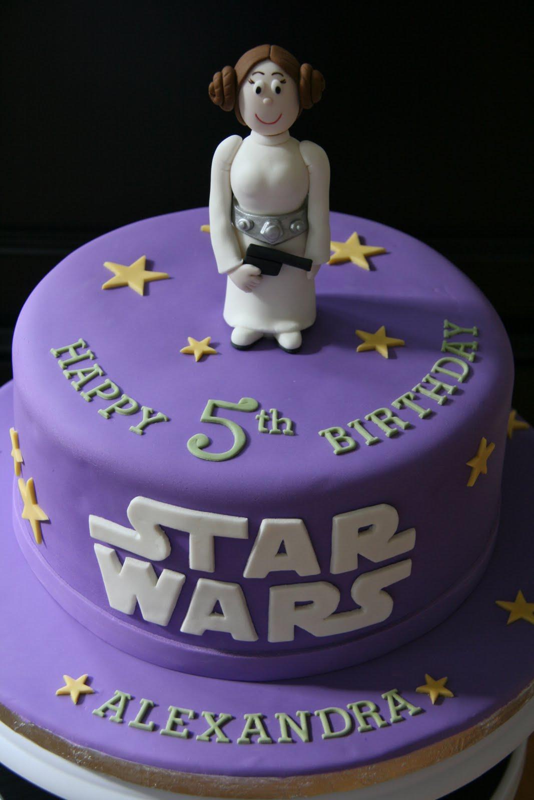Sweet Cake Design Princess Leia Cake