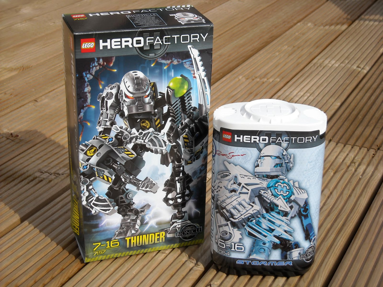 Clever H s Clever Blog Cool new Lego Hero Factory toys
