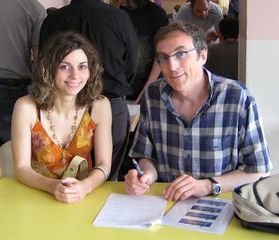 Nino Maisuradze et Philippe Dornbusch - © Chess & Strategy