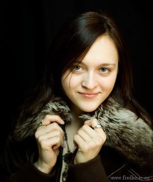 la joueuse d'échecs ukrainienne Anna Ushenina -  photo Fred Lucas