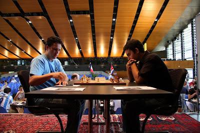 Le festival d'échecs de Bienne © photo Olivier Breisacher