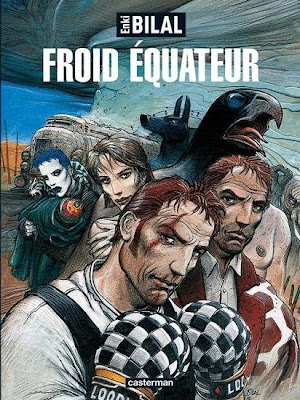 Froid équateur, troisième volet de la Trilogie Nikopol, élu meilleur livre de l'année 1992 (tous genres confondus) par le magazine Lire