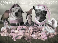 Our Drooly Christmas Portrait!